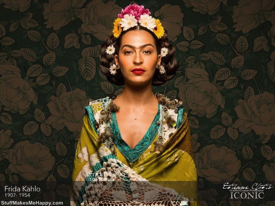 9. Frida Kahlo