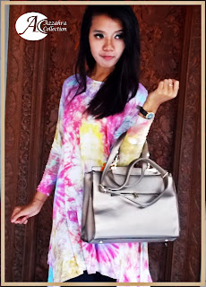 gambar Dress Rayon full Tie Die
