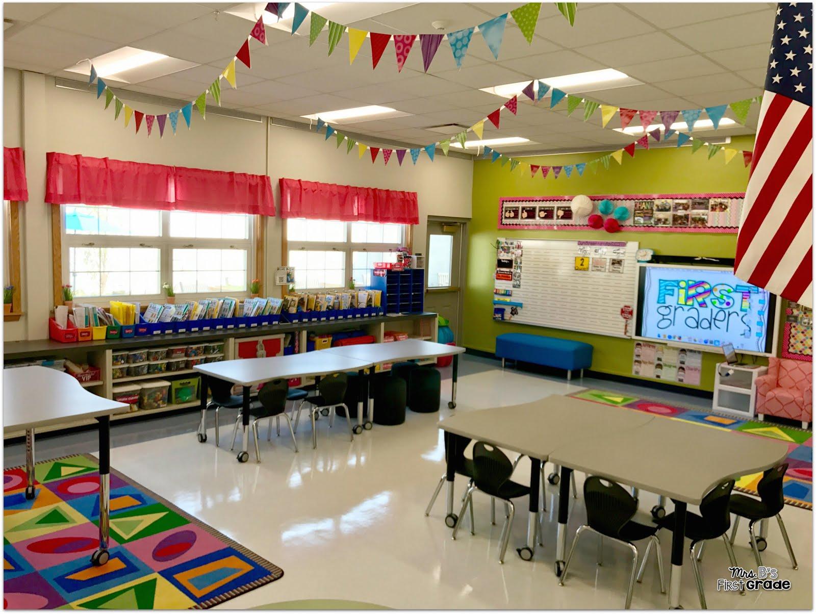 My Classroom Mrs Bs First Grade