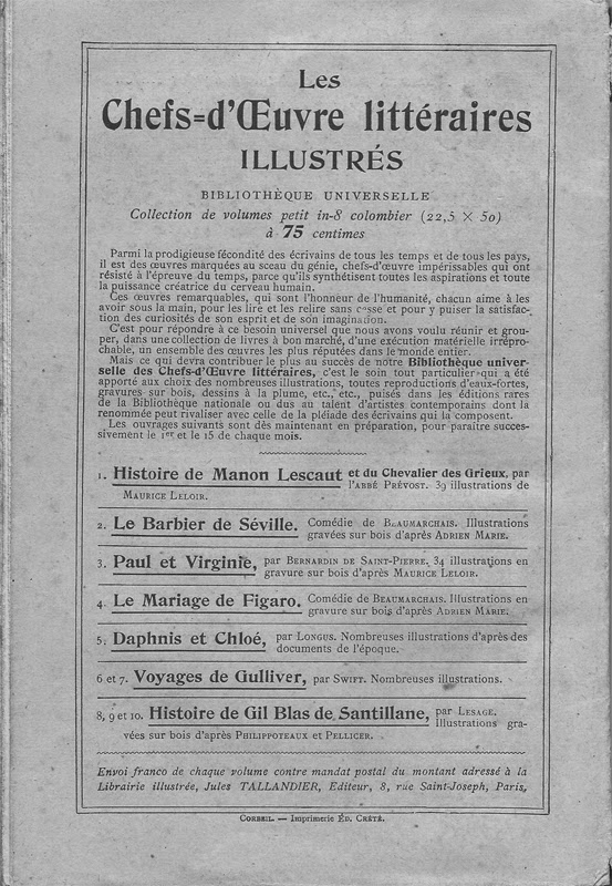 Voyages de Gulliver éditions Tallandier