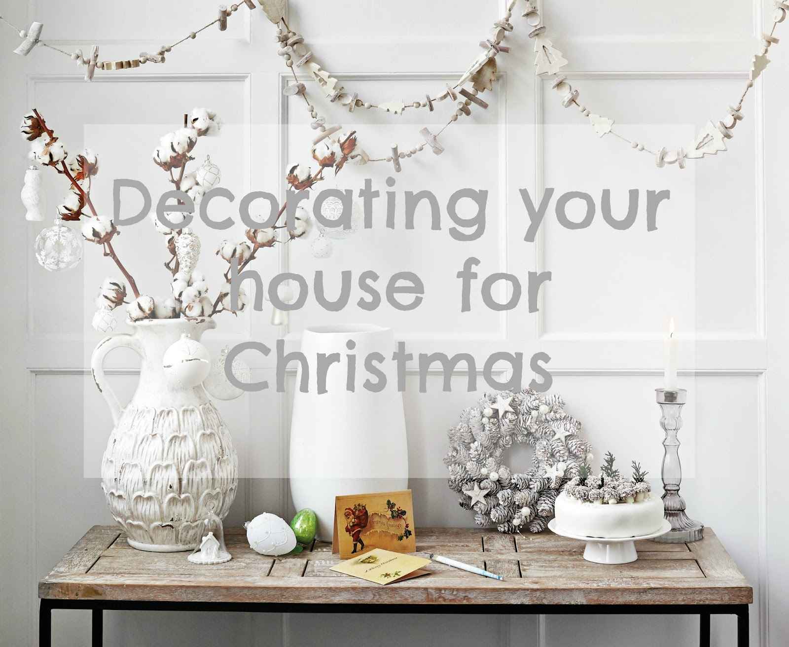 Lifestyle | Decorating your house for Christmas