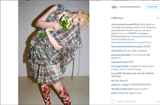 'Brienne' From Game Of Thrones Models For Vivienne Westwood