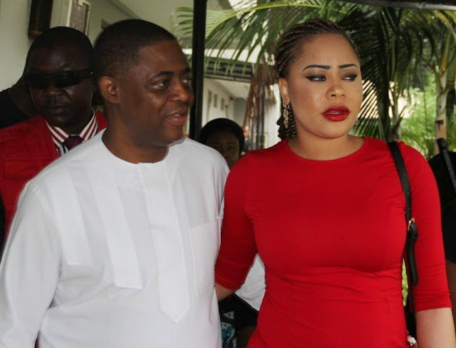 fani kayode girlfriend crying