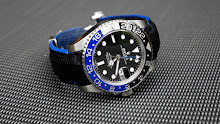 Mathieu's Rolex GMT Master II 'Batman' on SuperMatte Black Teju