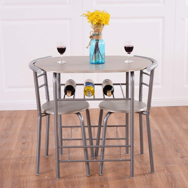 Bistro dining tables for small spaces
