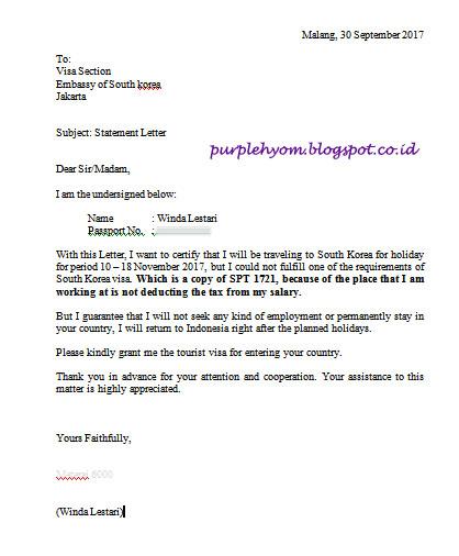 Purplehyom Apply Visa Korea Selatan 2017