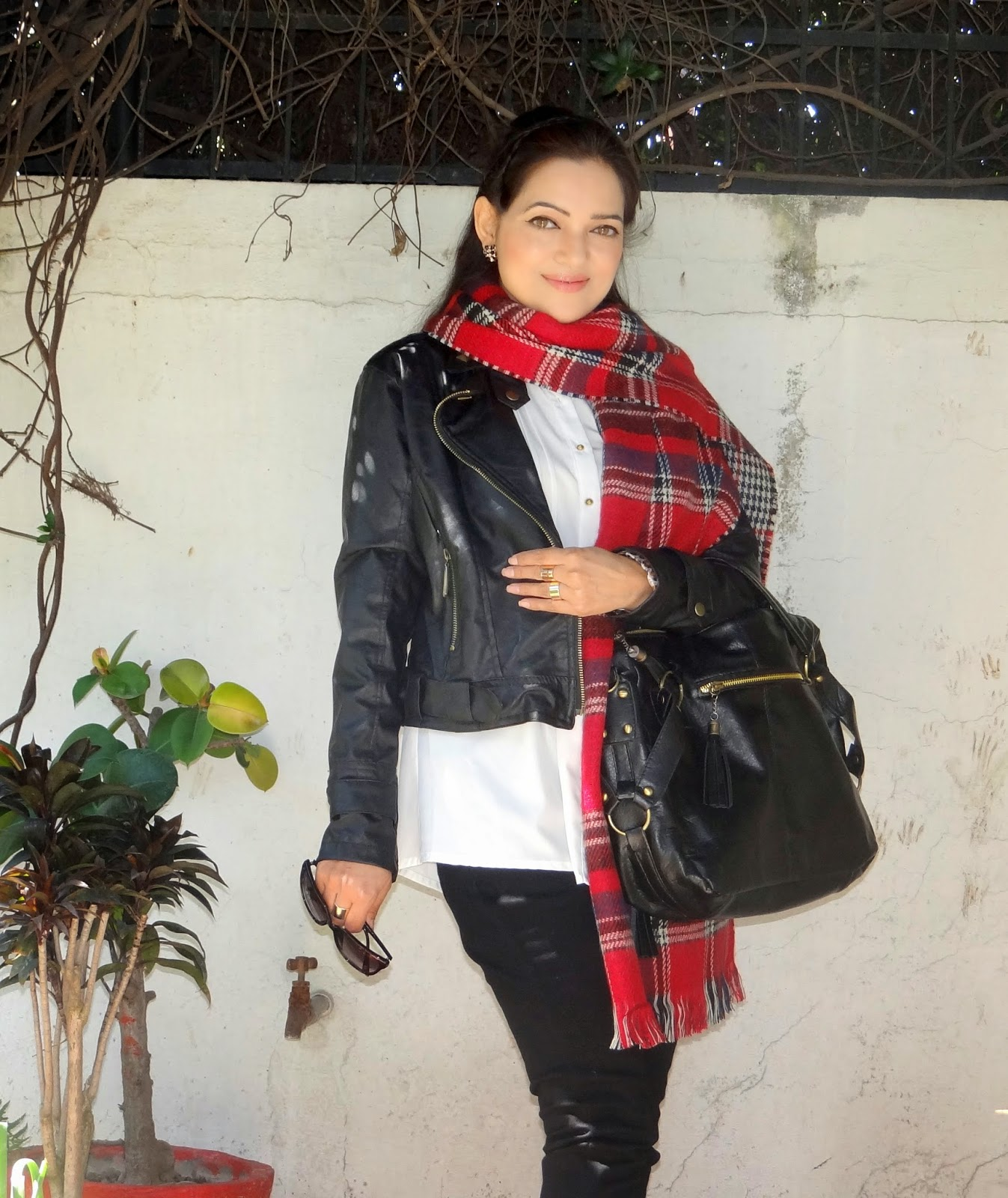 Classy British Plaid scarf from OASAP