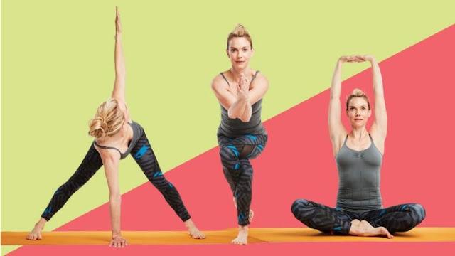 5 động tác yoga giúp bạn giải tỏa stress mùa lễ tết