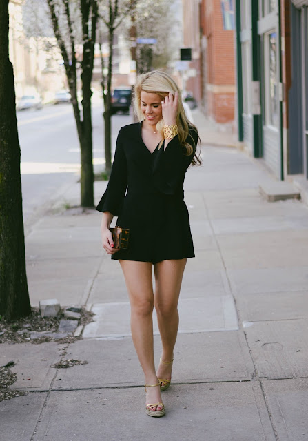 Little Black Romper Under $100
