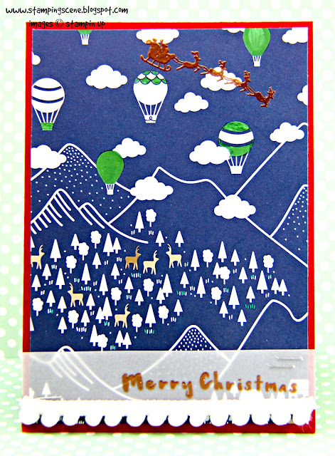 Christmas Card Club - Snowy Mountains