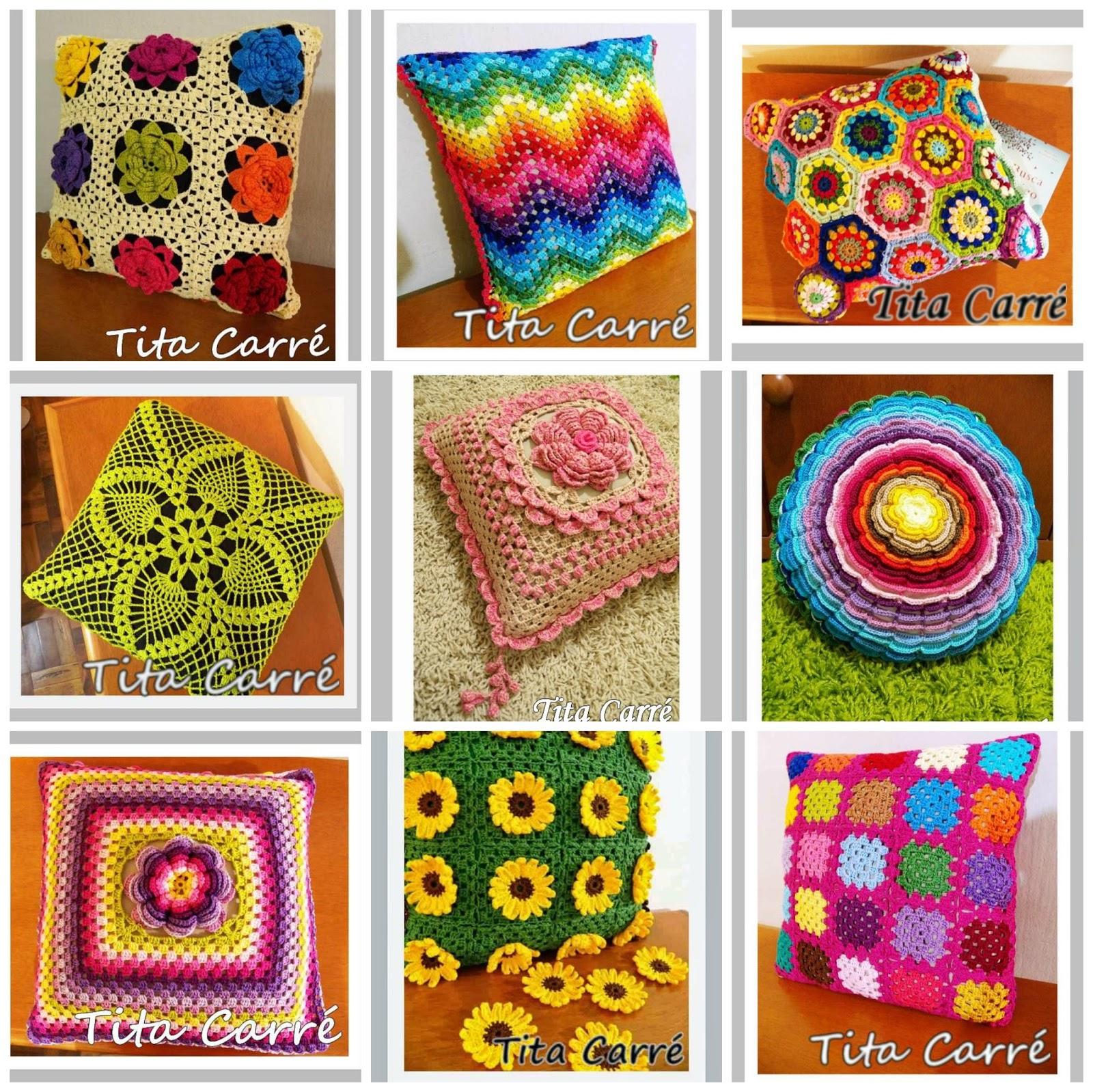 ergahandmade: Crochet Pillows  Diagrams
