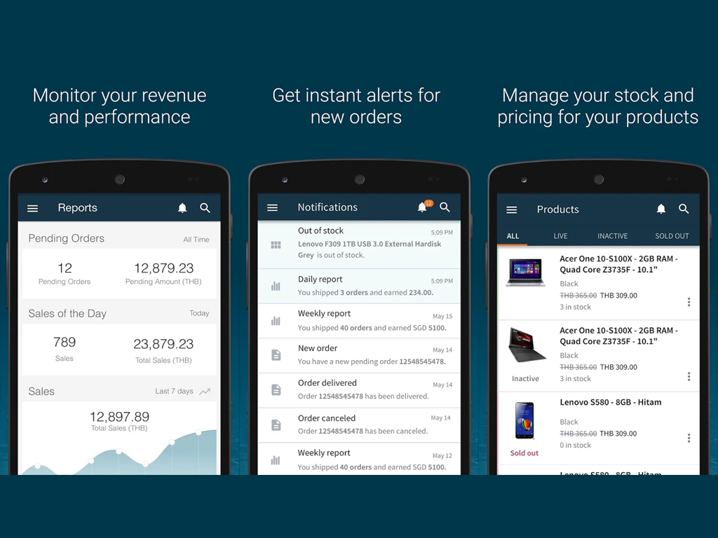 Lazada Releases Seller Center App for Merchants on the