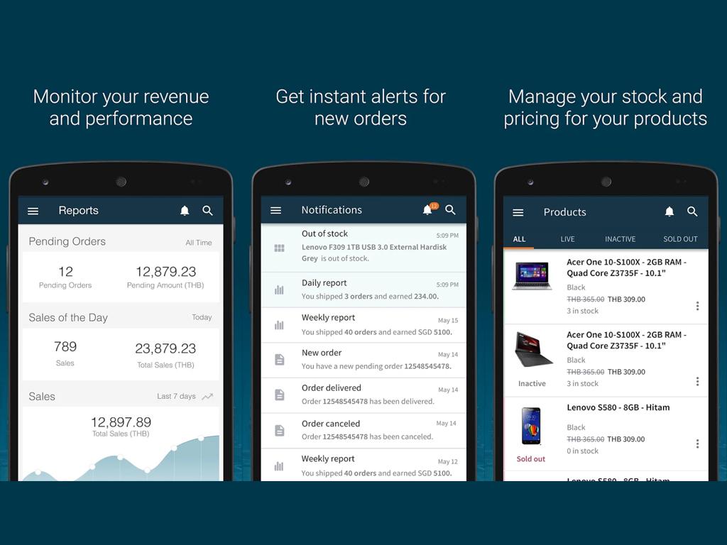 Lazada Releases Seller Center App for Merchants on the