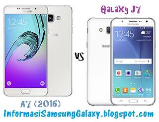 Harga dan Spesifikasi Samsung Galaxy A7 (2016) vs Galaxy J7
