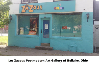 les zazous art gallery bellaire ohio