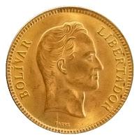 Anverso Moneda Conmemorativa Venezuela