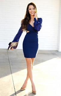 1b7fdc1ad7cfd Lacivert elbiseler partilerin ve davetlerin bir numaralı gösteriş  merkezidir. Gözleri üzerinde tutmak isteyen çoğu kadın lacivert bir elbiseyi  tercih eder.