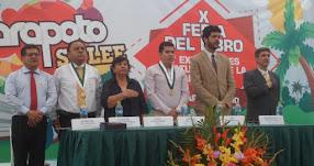 Inauguran en Tarapoto la Décima Feria del Libro y Expresiones Culturales de la Amazonía denominado «Ethel Linares Lozano»