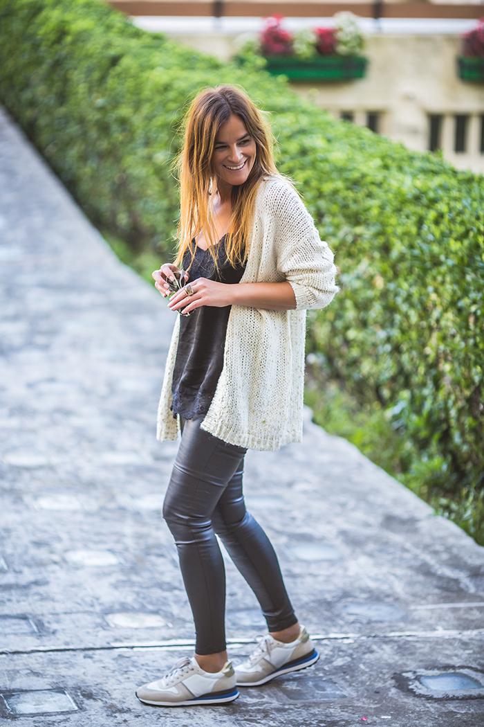 Chaqueta De Punto , es cuestión de  estilo, Personal Shopper , Lucía Díez , Shop Online ,encerado .