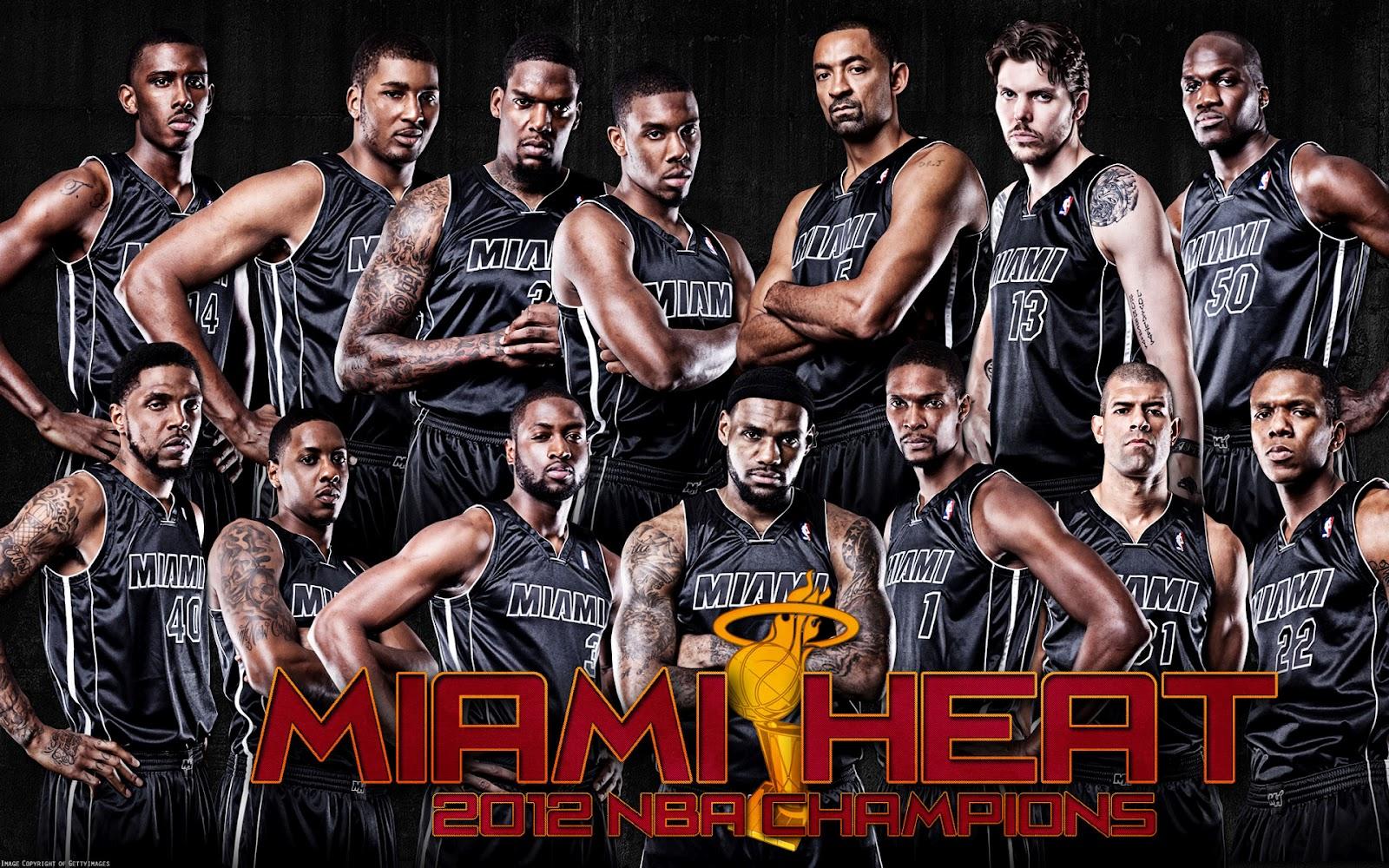 Nba Basketball Miami Heat Bedroom In: Miami Heat Basketball Club Players HD Wallpapers 2013