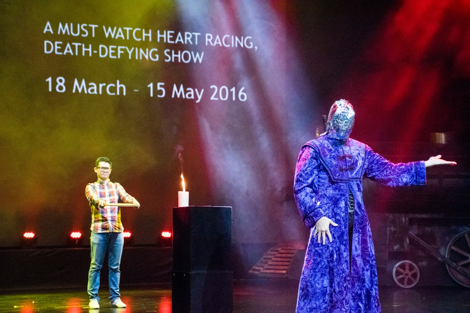 Aarow Crow Fearless Mentalist Resorts World Genting