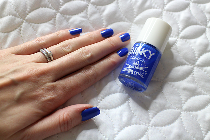 A photo of Binky London Nail Polish in Cobalt