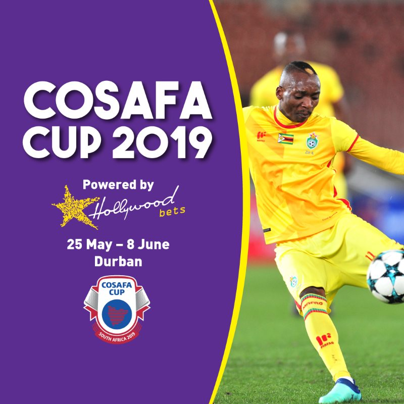 COSAFA Cup - Hollywoodbets - 25 May - 8 June