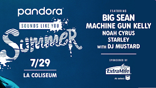 Big Sean, Noah Cyrus, and Machine Kelly highlight Pandora's 'Sounds Like You' concert