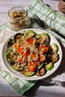 Гриловани зеленчуци с киноа