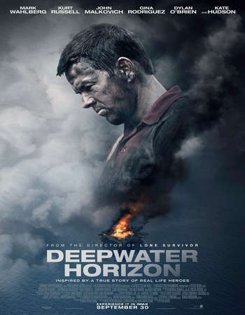 Poster Of Deepwater Horizon 2016 English 700MB HDCAM x264 Free Download Watch Online