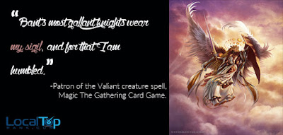 Patron of the Valiant creature spell
