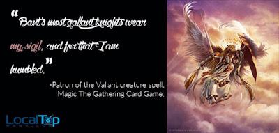 Patron of the Valiant creature spell