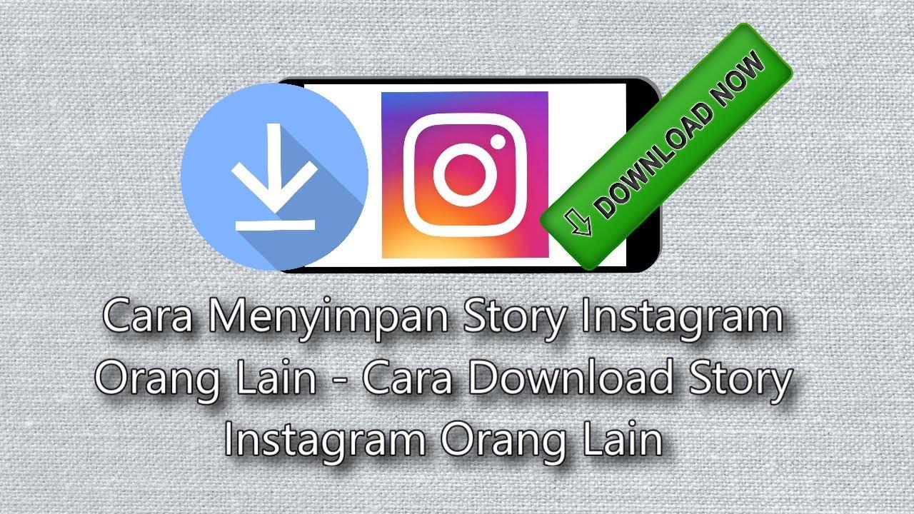 cara download story instagram di iphone