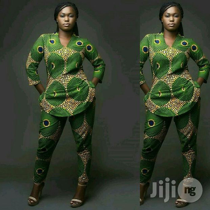 58c85d9180eb7a 50 Latest Ankara Trouser Styles for Ladies In 2018 - StraightNews