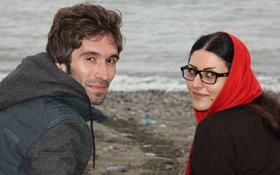 Golrokh Ebrahimi Iraee (right)