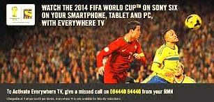 Tata Sky launched PC TV Everywhere, TV application for PC in time for the FIFA World Cup 2014
