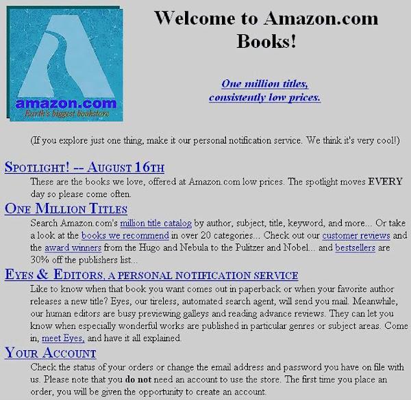 Historia de Jeff Bezos y Amazon