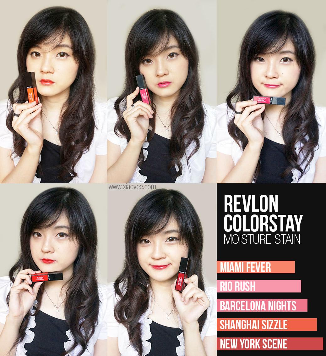 Revlon Colorstay Moisture Stain Review,Revlon Colorstay Moisture Stain Swatch