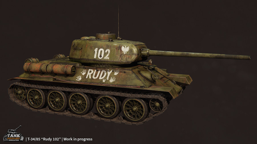 Tank Mechanic Simulator Rudy102