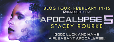See what other reviewers are saying about APOCALYPSE 5 by Stacey Rourke!