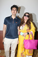 Govinda with wife Sunita Ahuja and Son Yashvardan Ahuja at Screening Of her new movie Aa a Hero 18.JPG