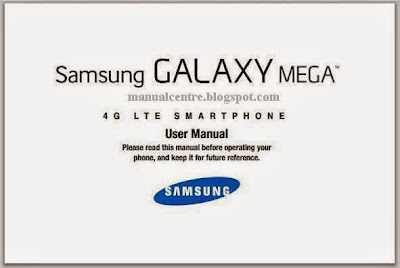 Samsung Galaxy Mega Manual Cover