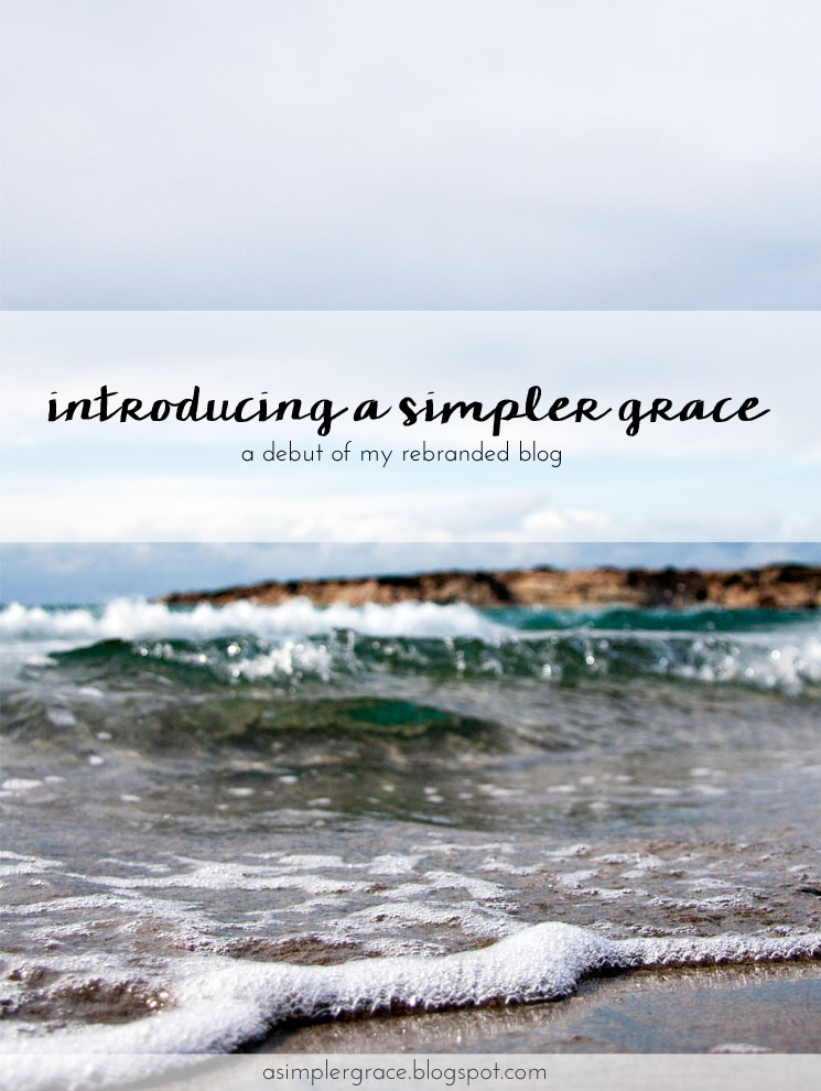 Introducing A Simpler Grace! - A Simpler Grace