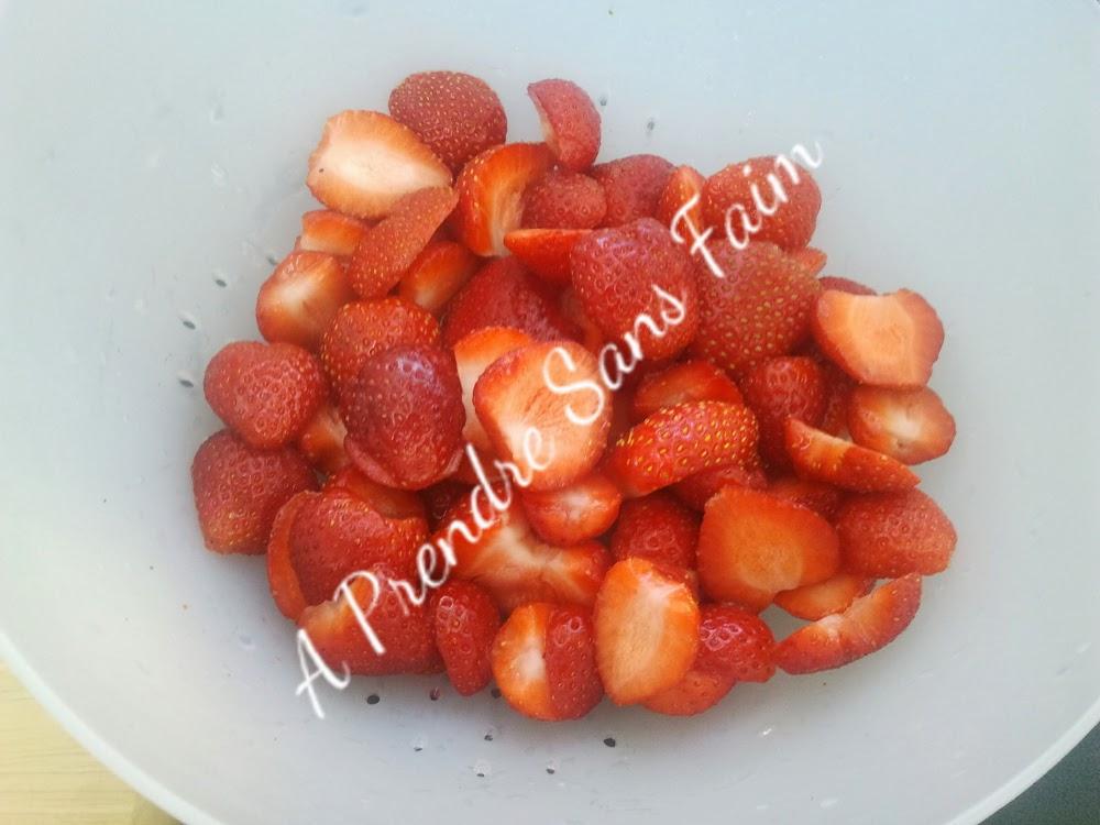 Trifle aux fraises et Baileys (pas à pas en photos)