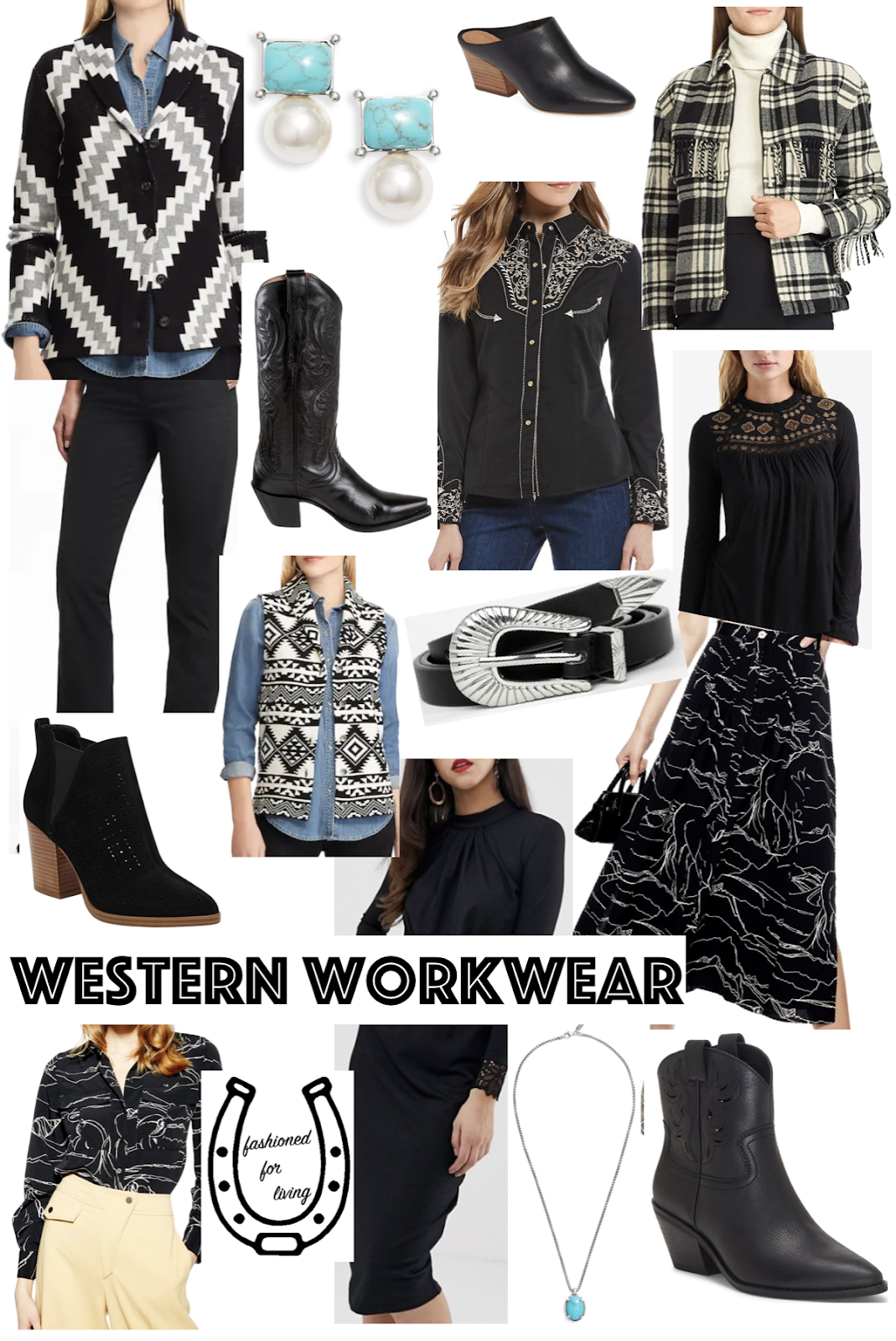 western workwear outfit inspiration