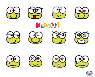 Papeles de Keroppi.