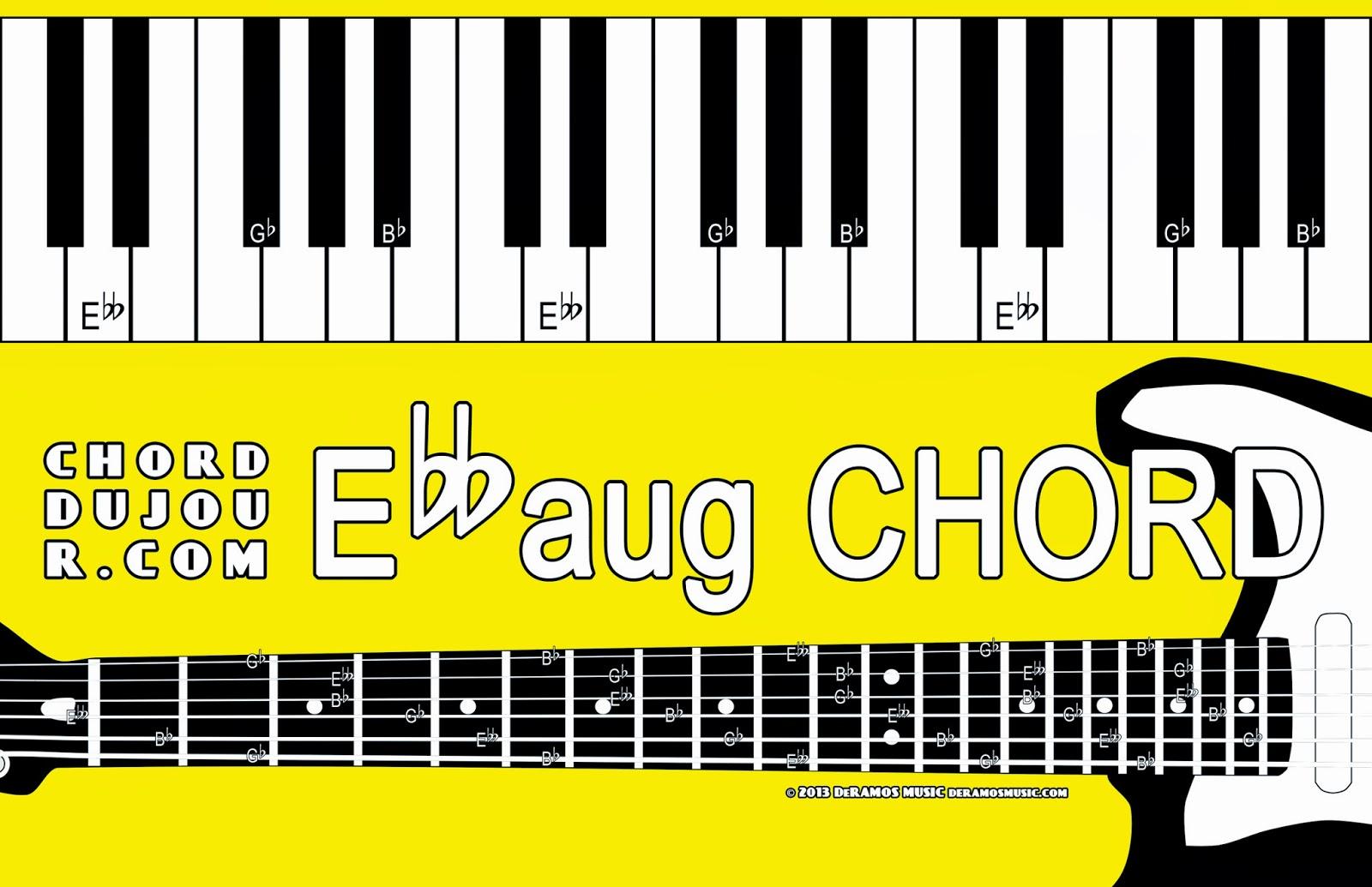 ユニークG Flat Augmented Chord Guitar - 子供向けぬりえ