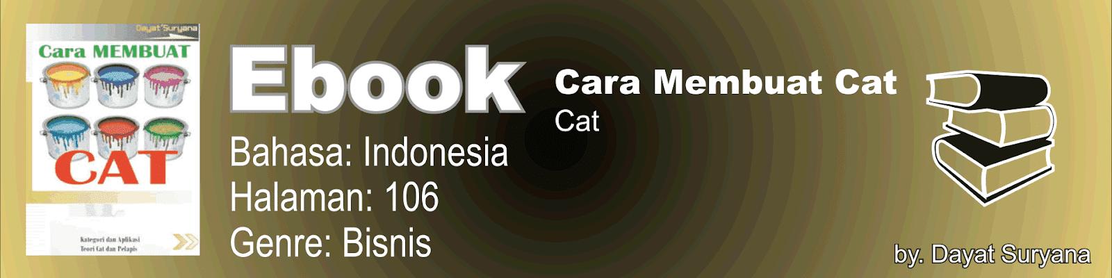 Buku Cara Membuat Cat