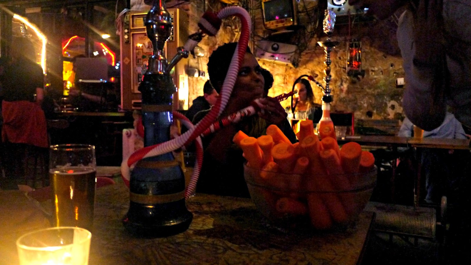 Szimpla Kert budapest ruin bar carrots