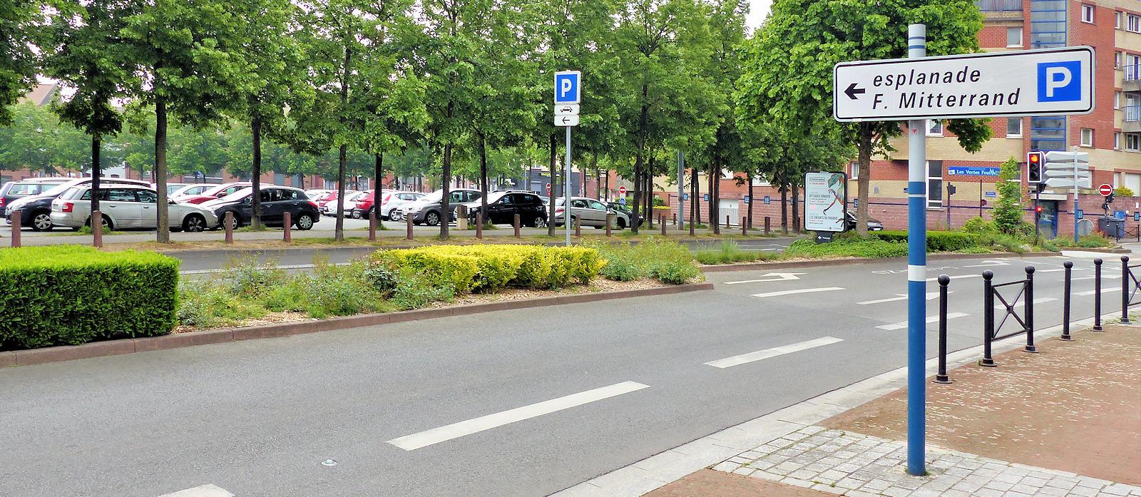 Parkings Tourcoing - Esplanade François Mitterrand